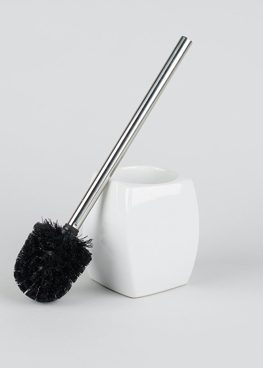 Twisted Ceramic Toilet Brush (39cm x 12cm)