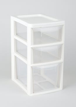 3 Drawer Storage Tower (35cm x 25cm x 19cm)