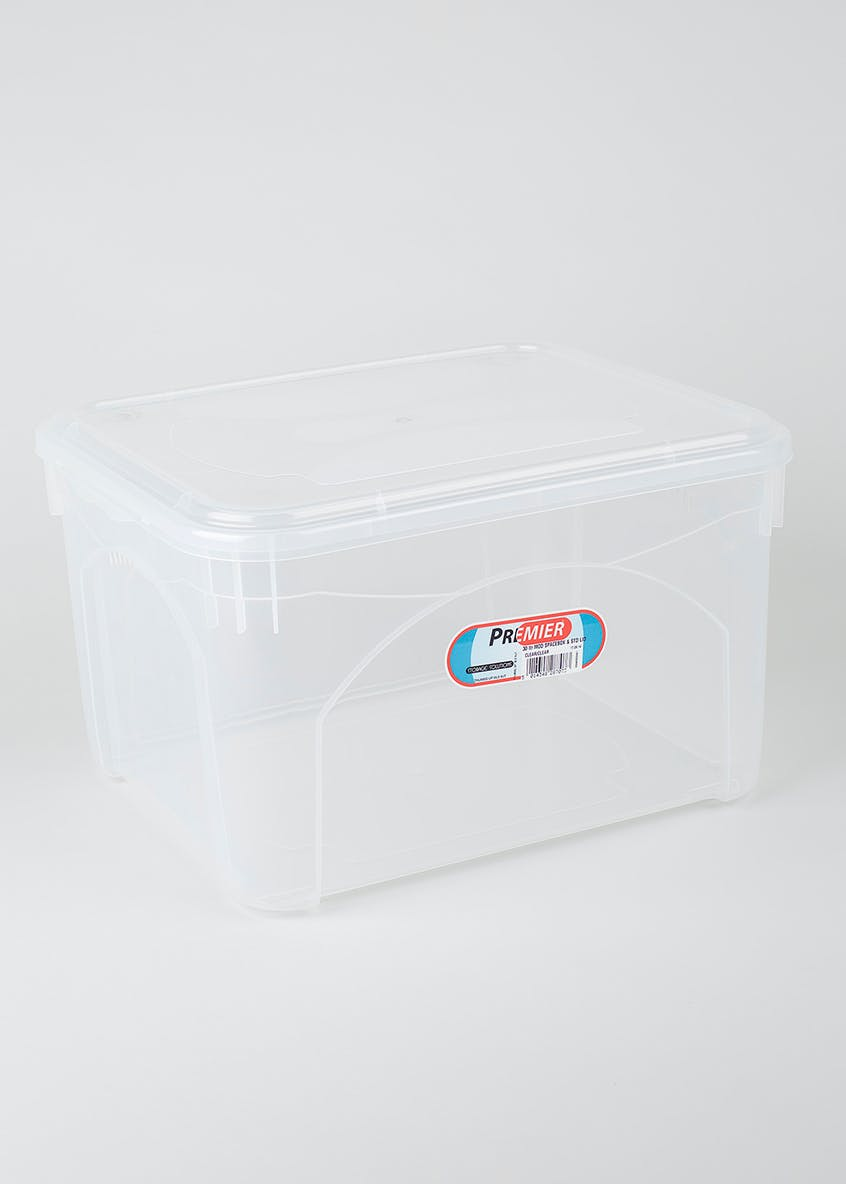 30L Vented Storage Box (43cm x 37cm x 27cm)