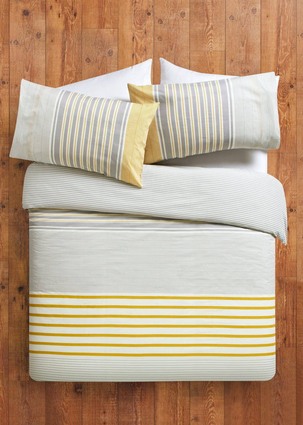 stripe printed duvet cover matalan. Black Bedroom Furniture Sets. Home Design Ideas