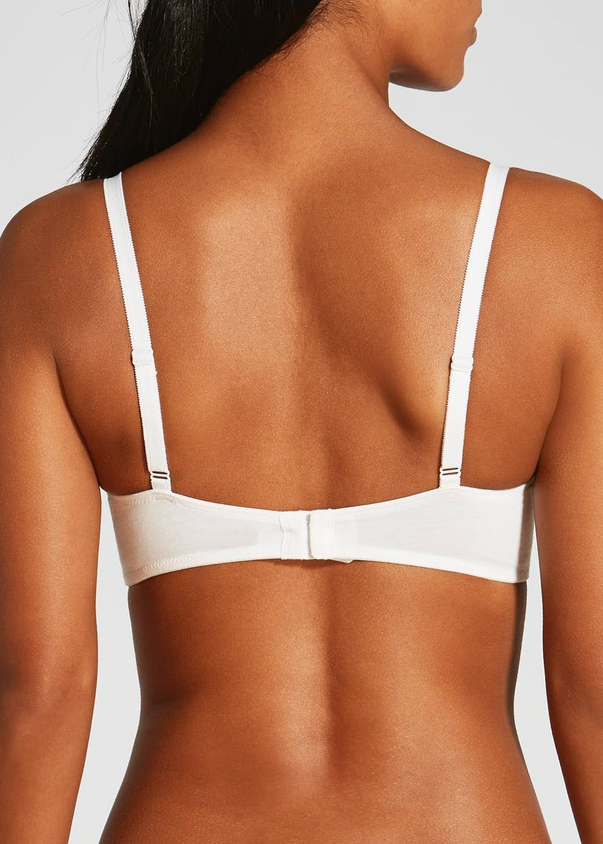 2 Pack Cotton Bras
