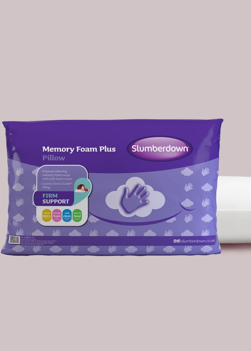 Slumberdown Traditional Memory Foam Pillow