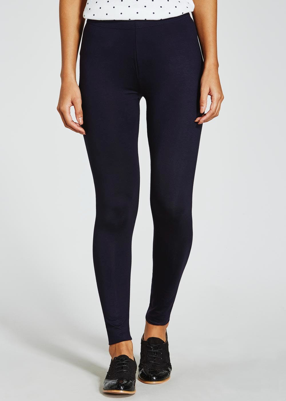b9b7476c5d652d Full Length Leggings – Navy – Matalan