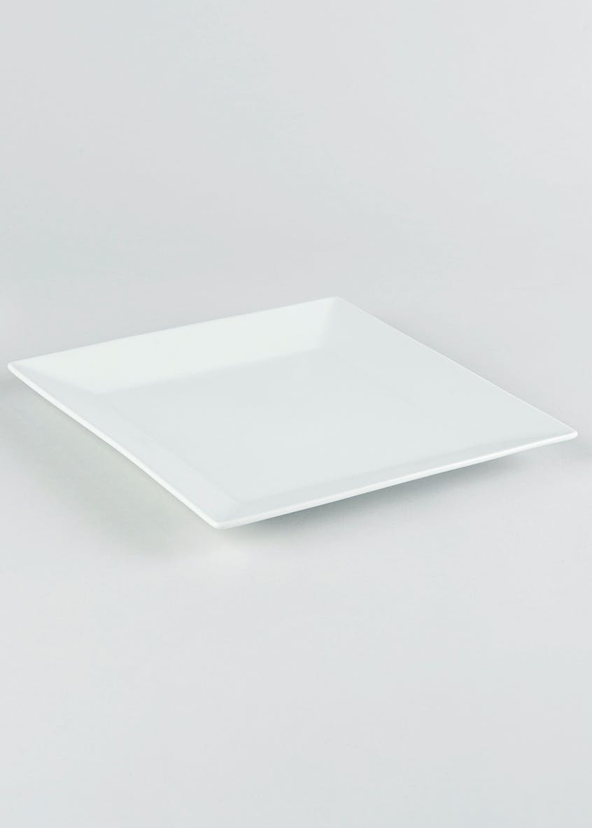 Chicago Square Dinner Plate (27cm x 27cm)