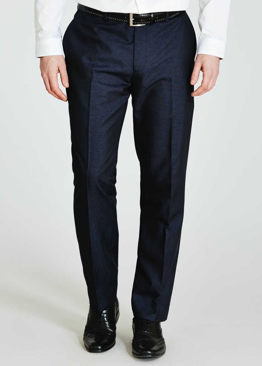 Oxford Slim Fit Suit Trousers