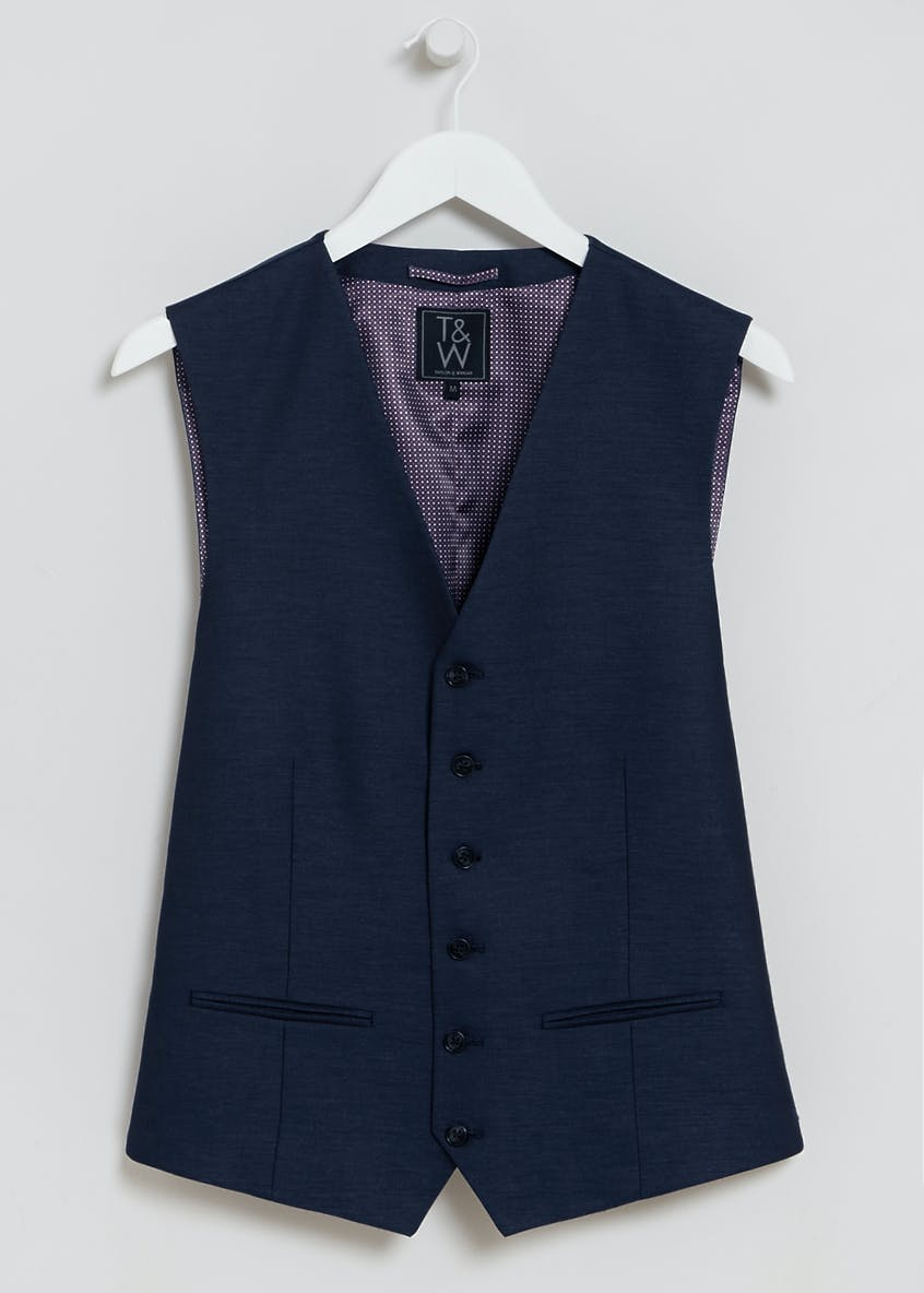 Oxford Slim Fit Prom Suit Waistcoat