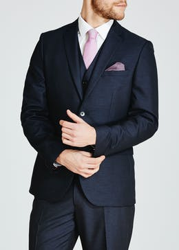 Oxford Slim Fit Suit Jacket