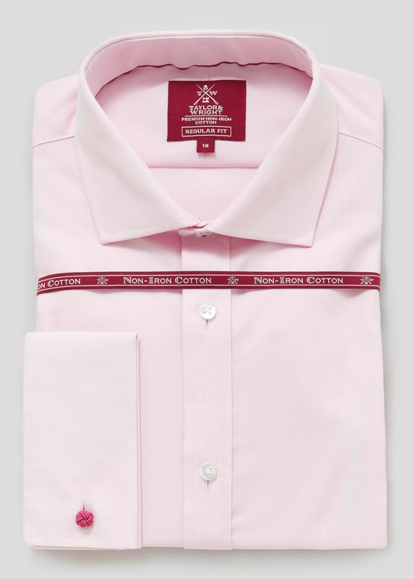 Easy to Iron Cotton Regular Fit Twill Shirt