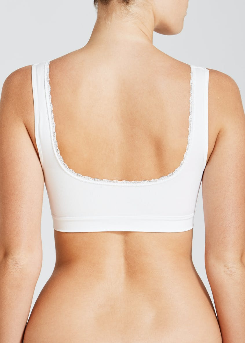Non-Wired Padded Crop Top