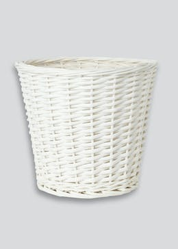 Split Willow Waste Bathroom Bin (28cm x 25cm)