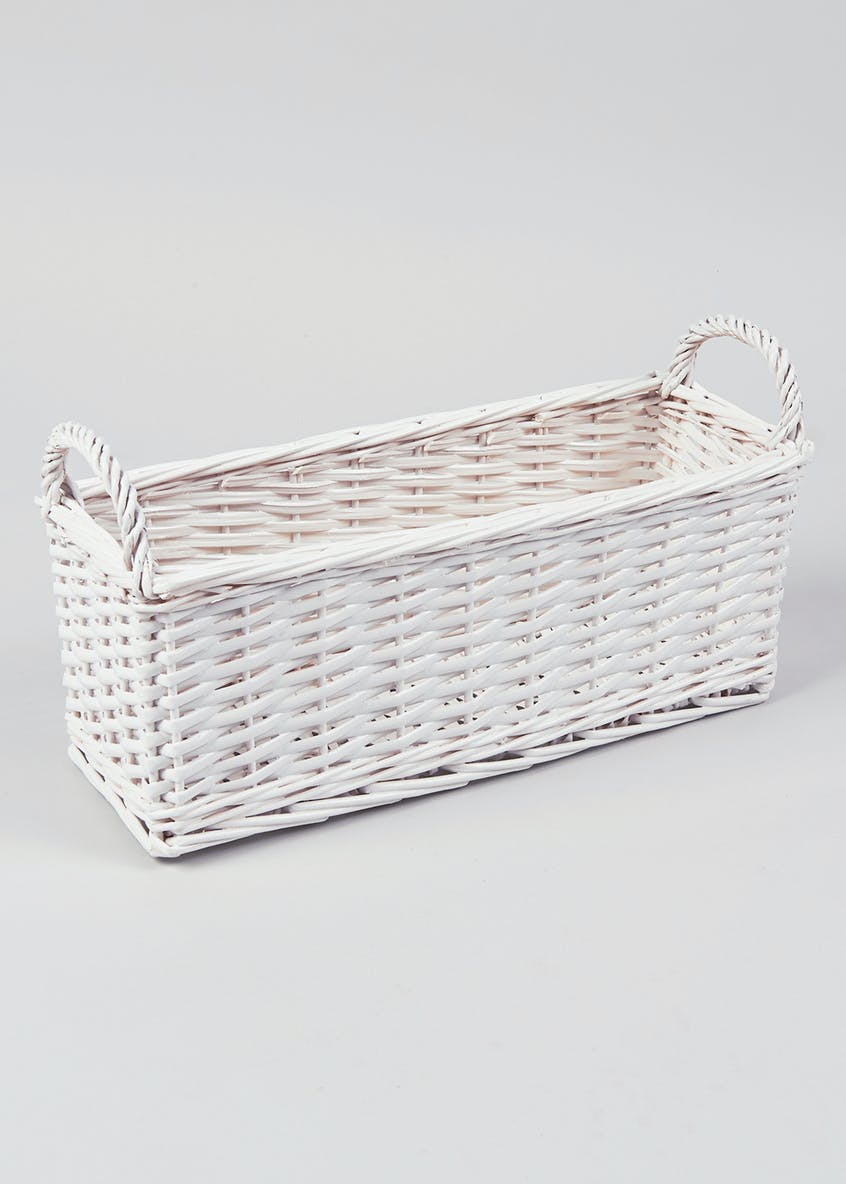 Wicker Window Shelf Tray (39cm x 16cm x 14cm)