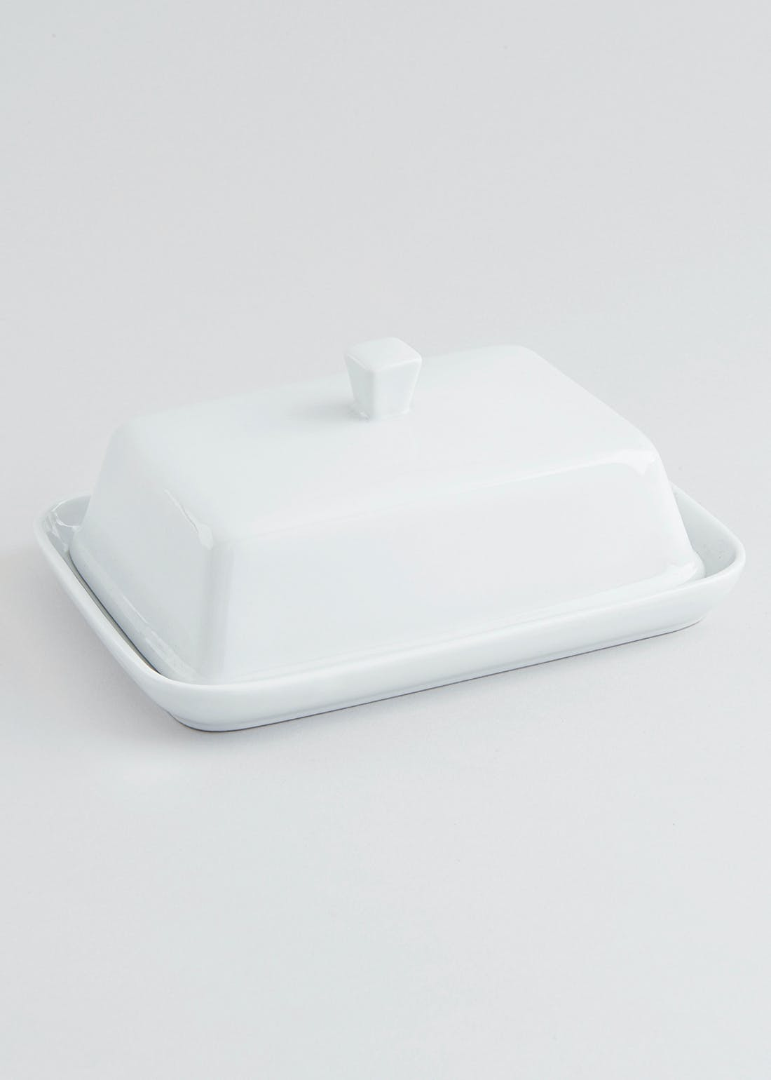 Chicago Square Butter Dish (18cm x 14cm x 9cm)