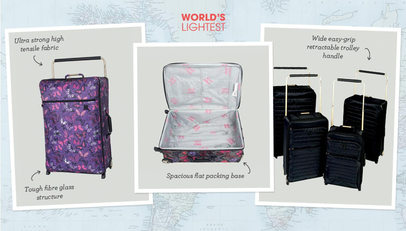 Shop Worlds Lightest Luggage