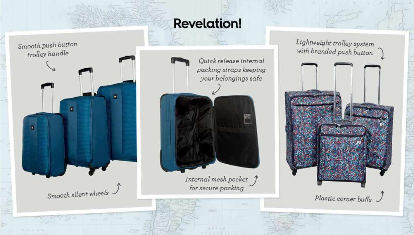 Shop Revelation luggage