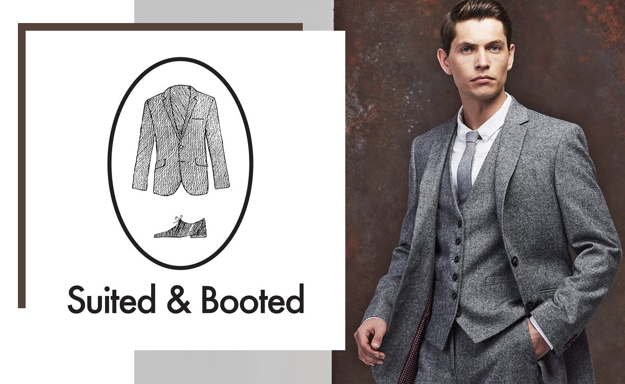 Shop mens wedding & occasion suits at M&S. From morning suits with coattails & waistcoats to black tie luxury wedding suits.