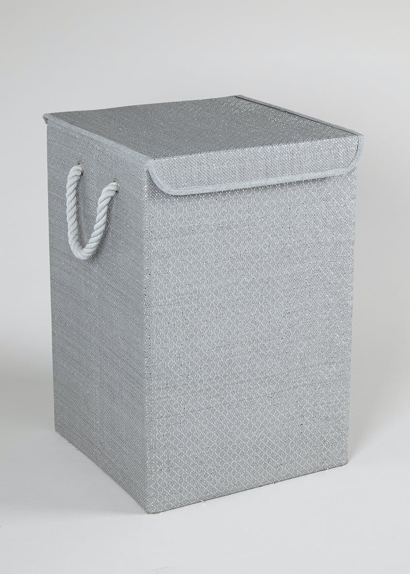 Sparkle Collapsible Laundry Bin (53cm x 35cm x 35cm)