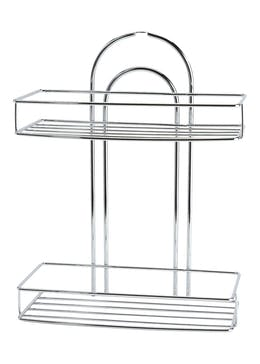 Wire Chrome Shower Caddy (34cm x 23cm x 12cm)