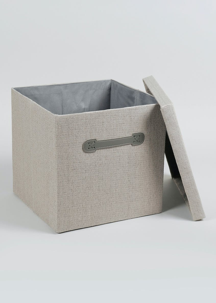 Foldable Fabric Storage Box (33cm x 33cm x 31cm)