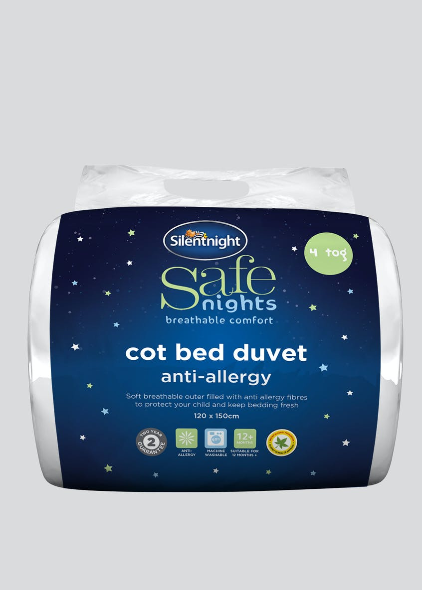 Silentnight Anti Allergy Cot Duvet (4 Tog)