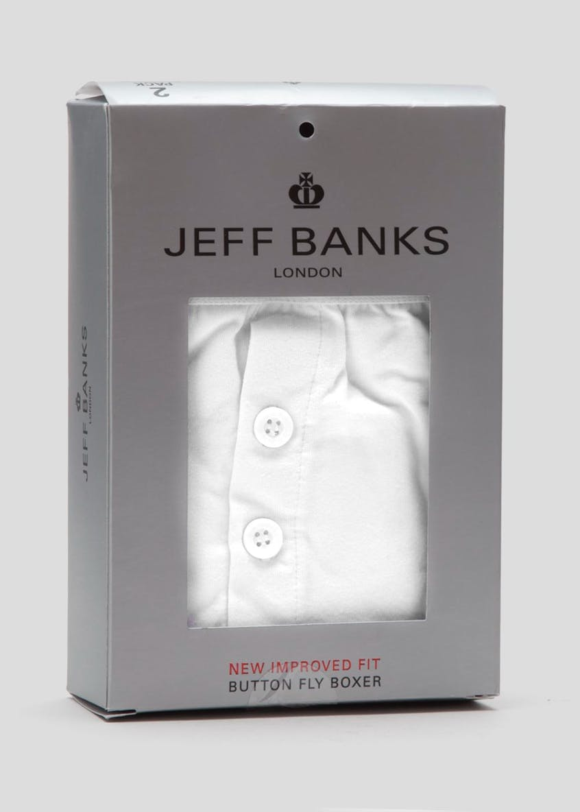 Jeff Banks 24:7 2 Pack Boxers