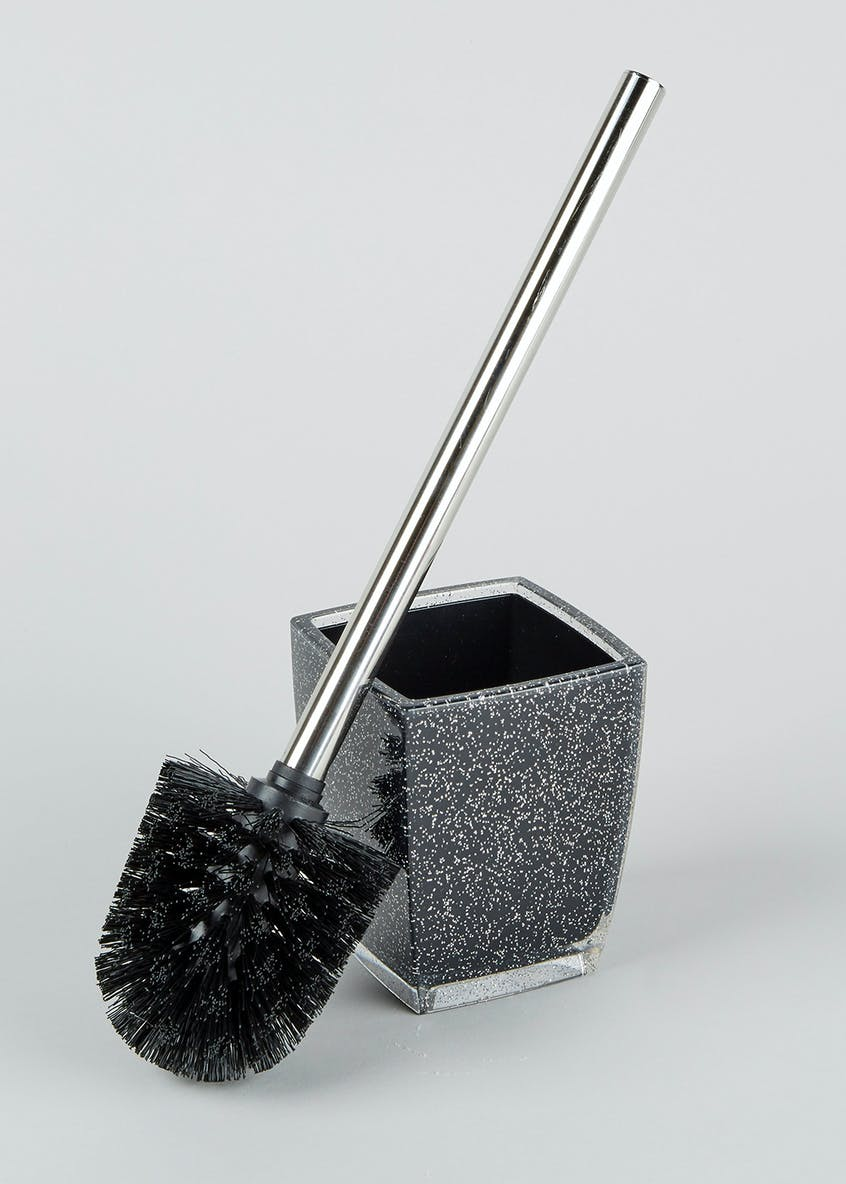 Glitter Toilet Brush (38cm x 9cm x 9cm)