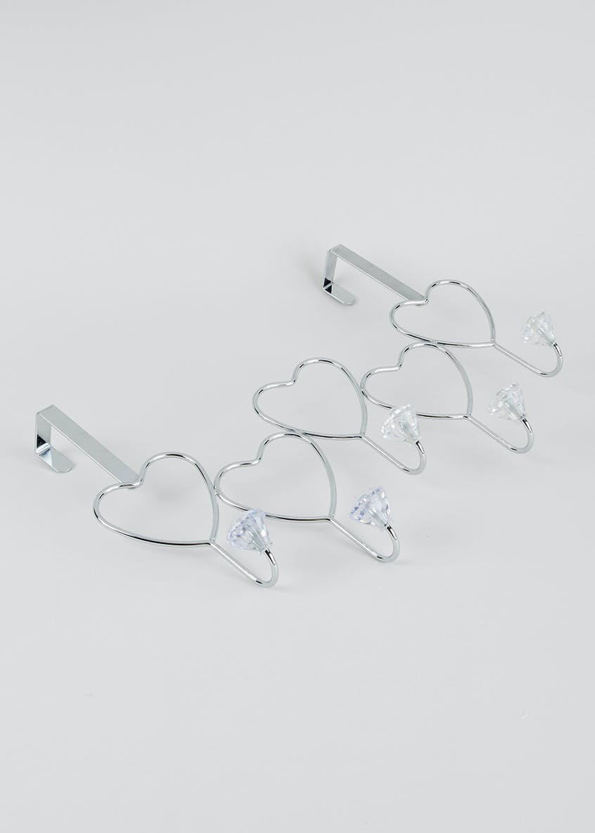 Heart Over Door Hooks (40cm x 29cm)