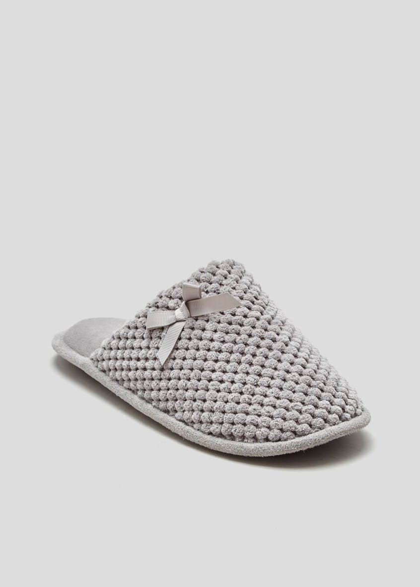 Lightweight Memory Foam Mule Slippers