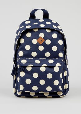 Kids Polka Dot Backpack