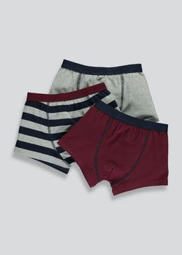 Boys 2 Pack Trunks (6-13yrs)