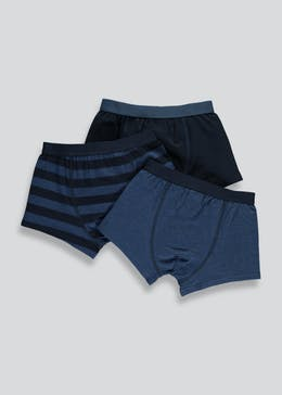 Boys 3 Pack Trunks (2-13yrs)