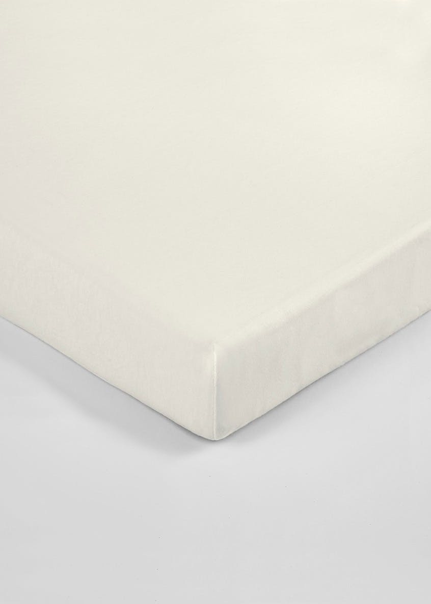 Unisex 2 Pack Fitted Cotbed Sheets (70cm x 140cm)
