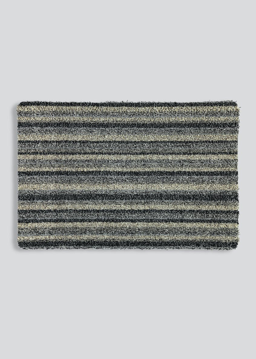Stripe Washable Door Mat (75cm x 50cm)