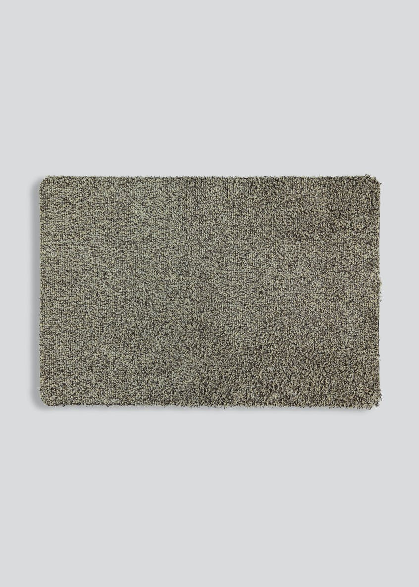 Linen Washable Door Mat (75cm x 50cm)