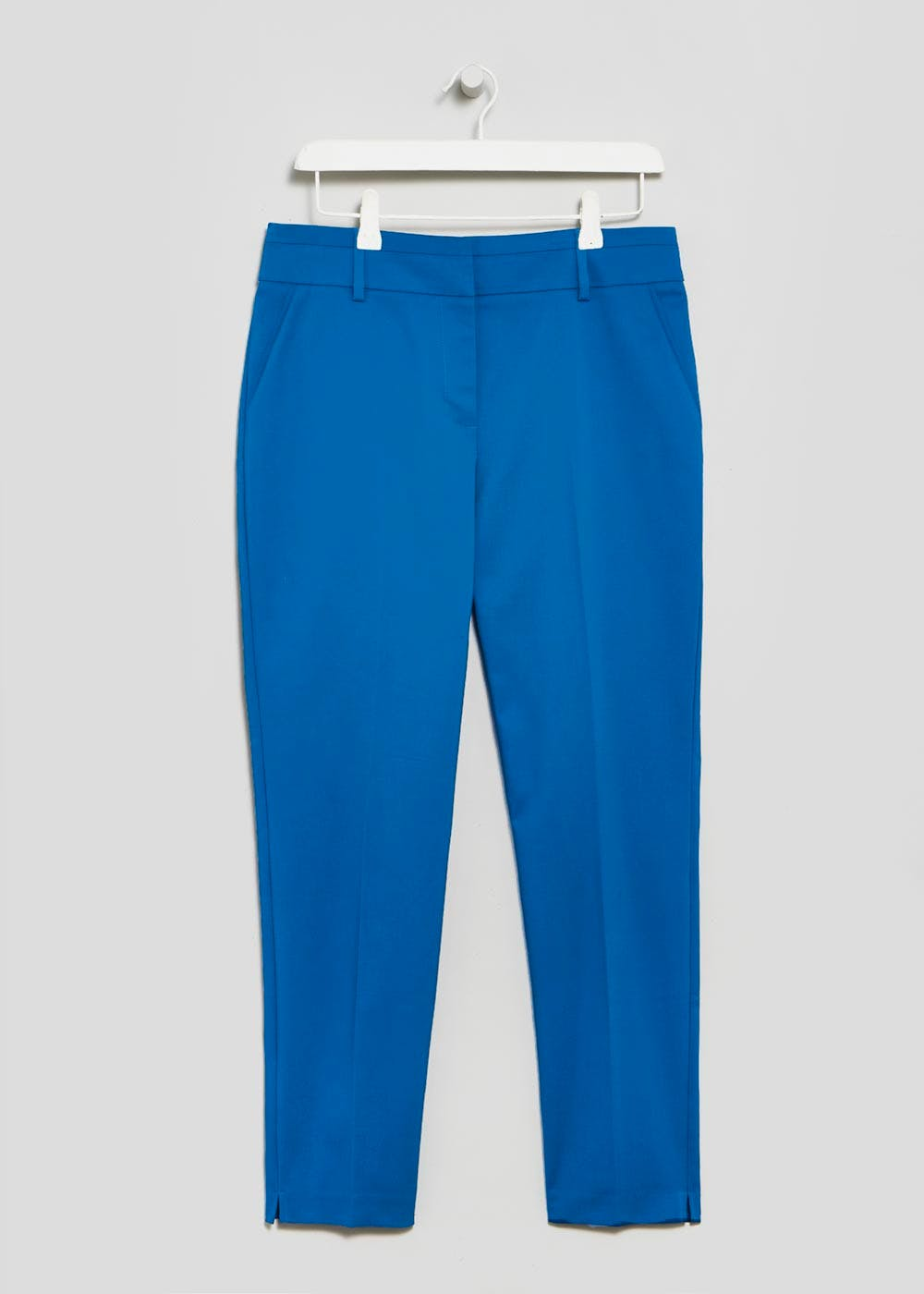Capri Trousers – Teal – Matalan