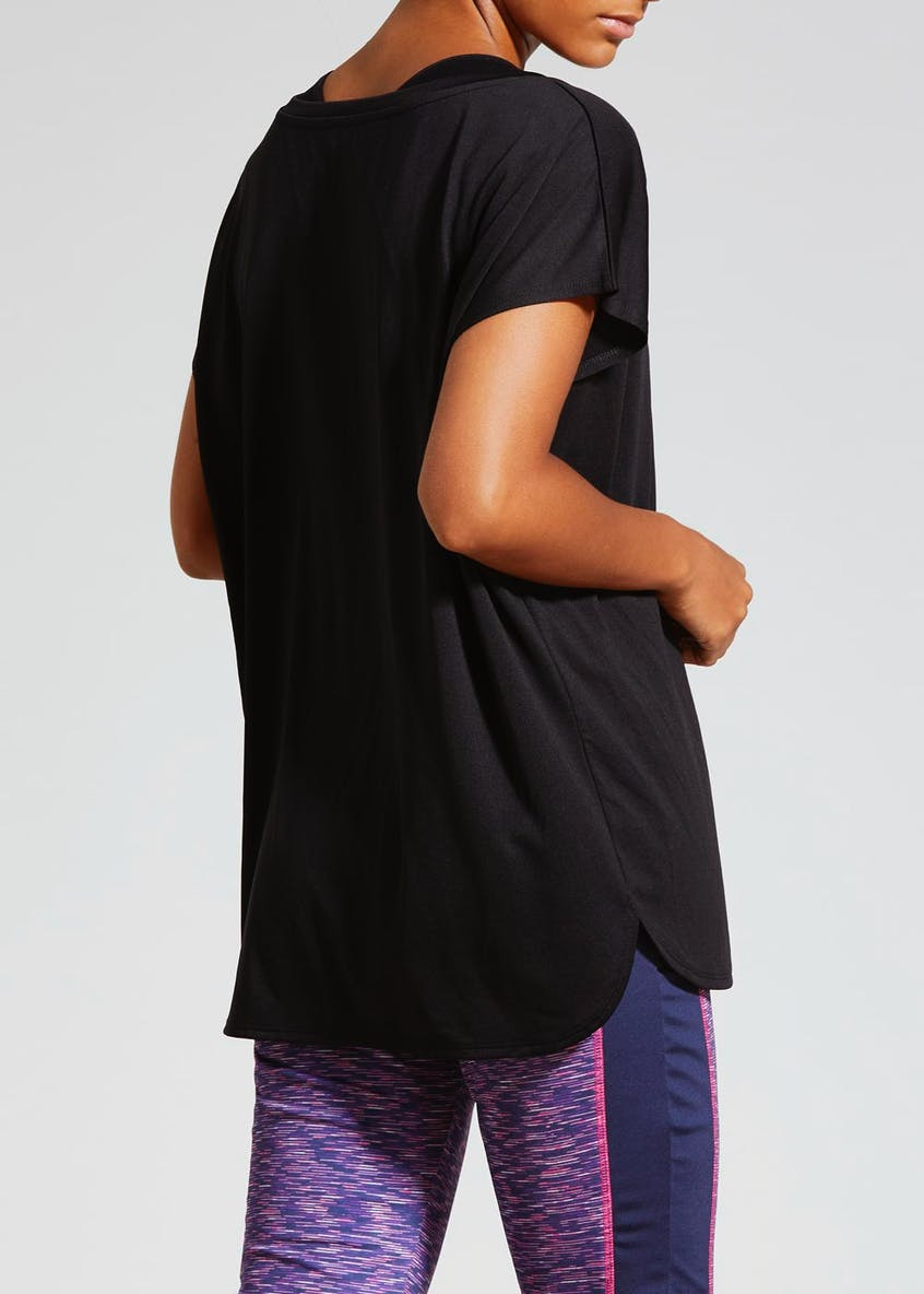 Souluxe Relaxed Fit Gym T-Shirt