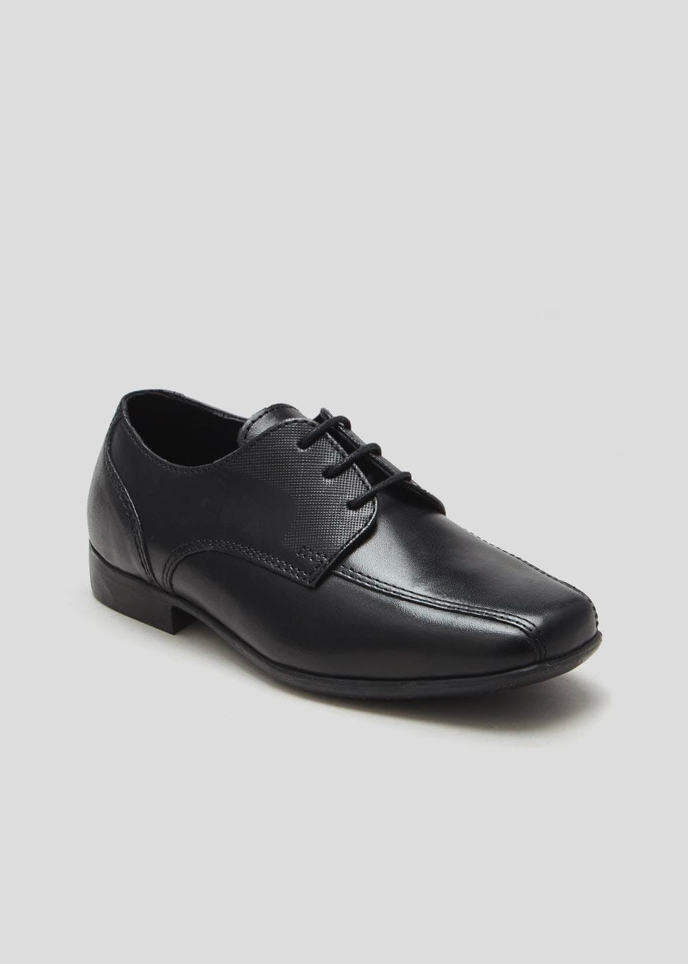 Boys Real Leather School Shoes (Younger