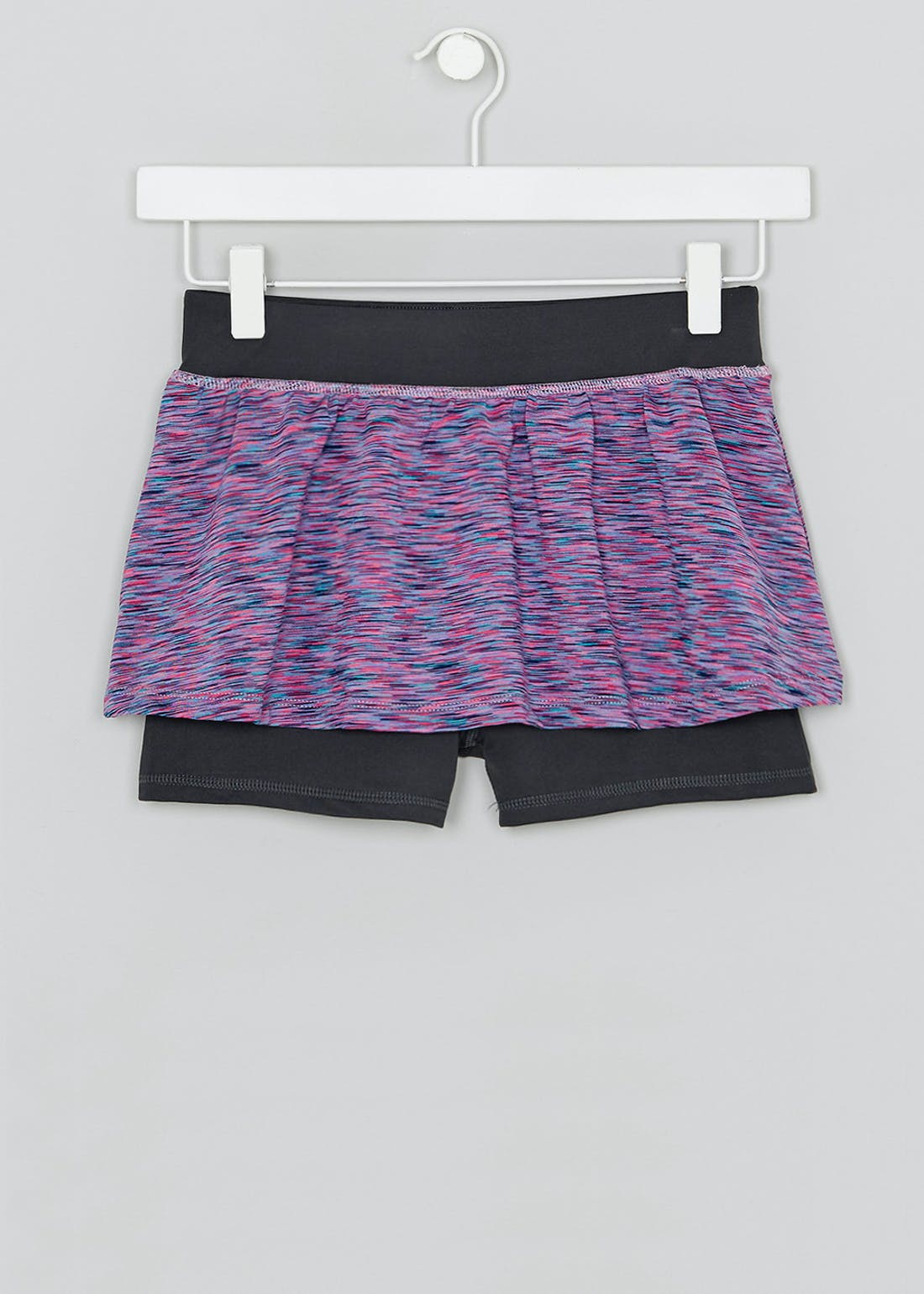 Girls Souluxe 2 in 1 Sports Shorts (4-13yrs)