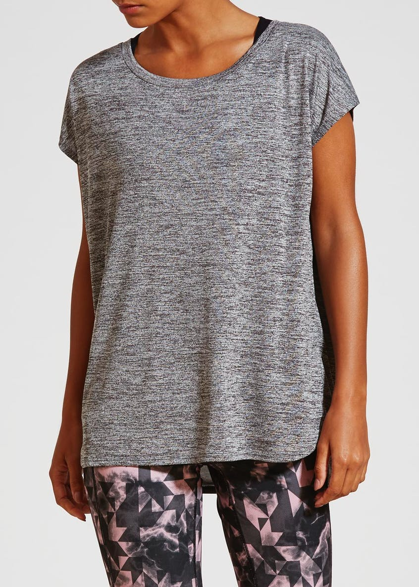 Soluxue Basic Slouch Gym T-Shirt