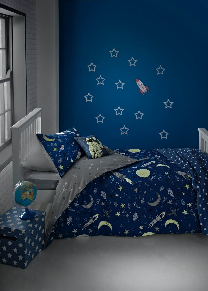 Kids Glow In The Dark Duvet Cover