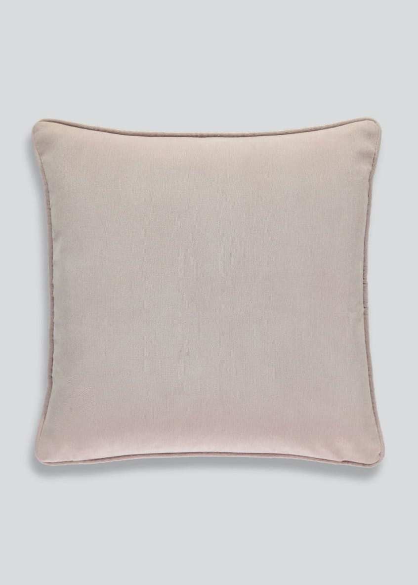 Soft Velour Cushion (46cm x 46cm)