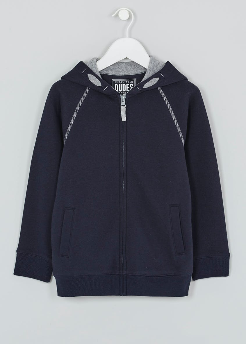 Boys Zip Through Hoodie (3-13yrs)
