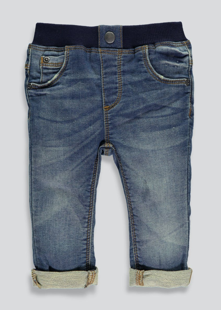 Boys Soft Denim Jeans (Tiny Baby-18mths)