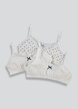 Girls 3 Pack Crop Tops (4-13yrs)