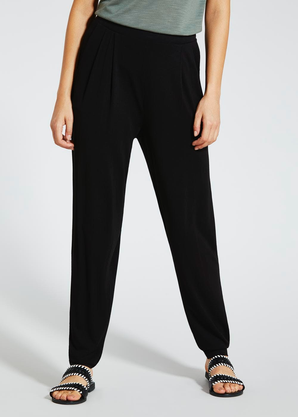 Harem Trousers Black Matalan
