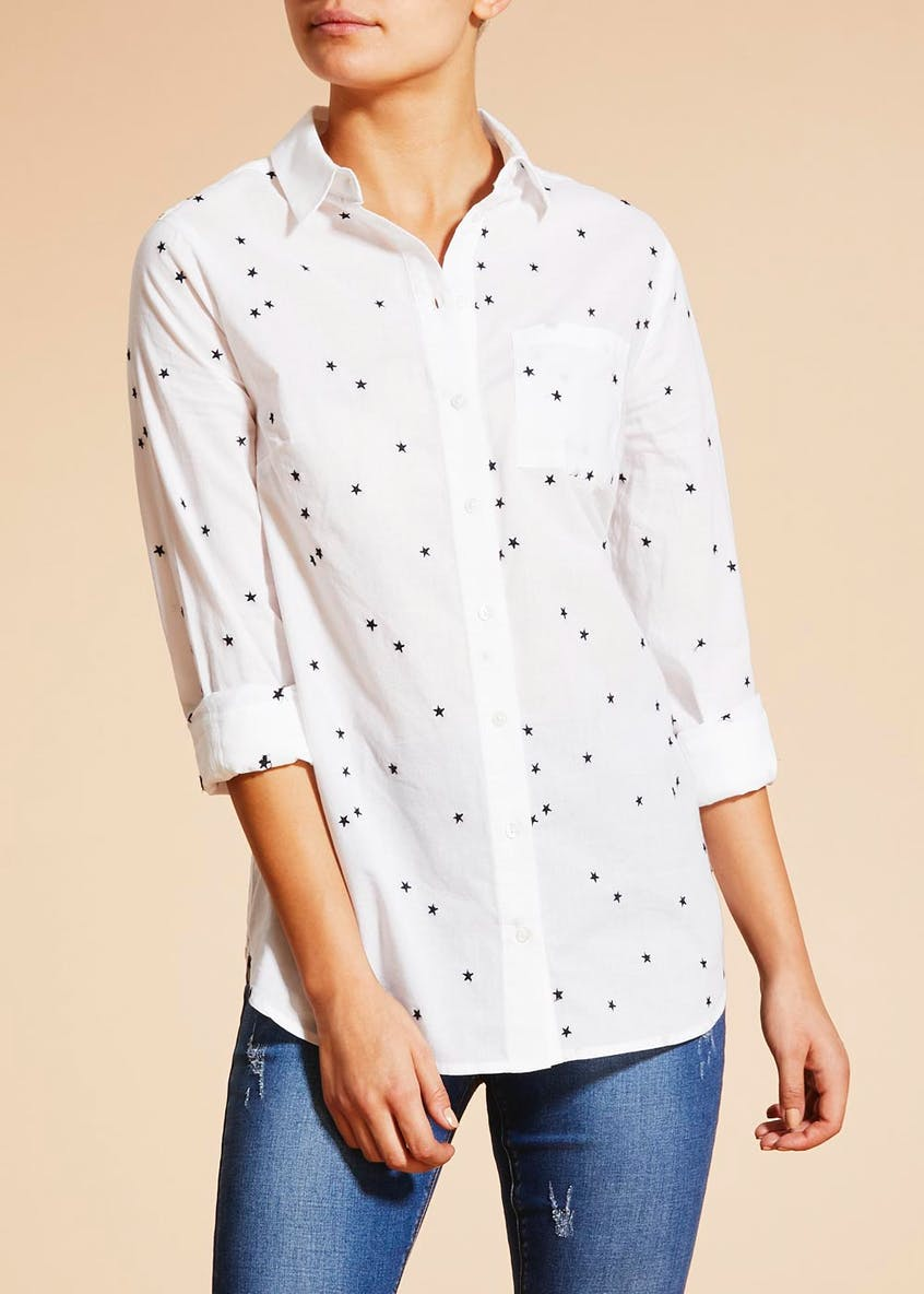 Falmer Star Embroidered Shirt