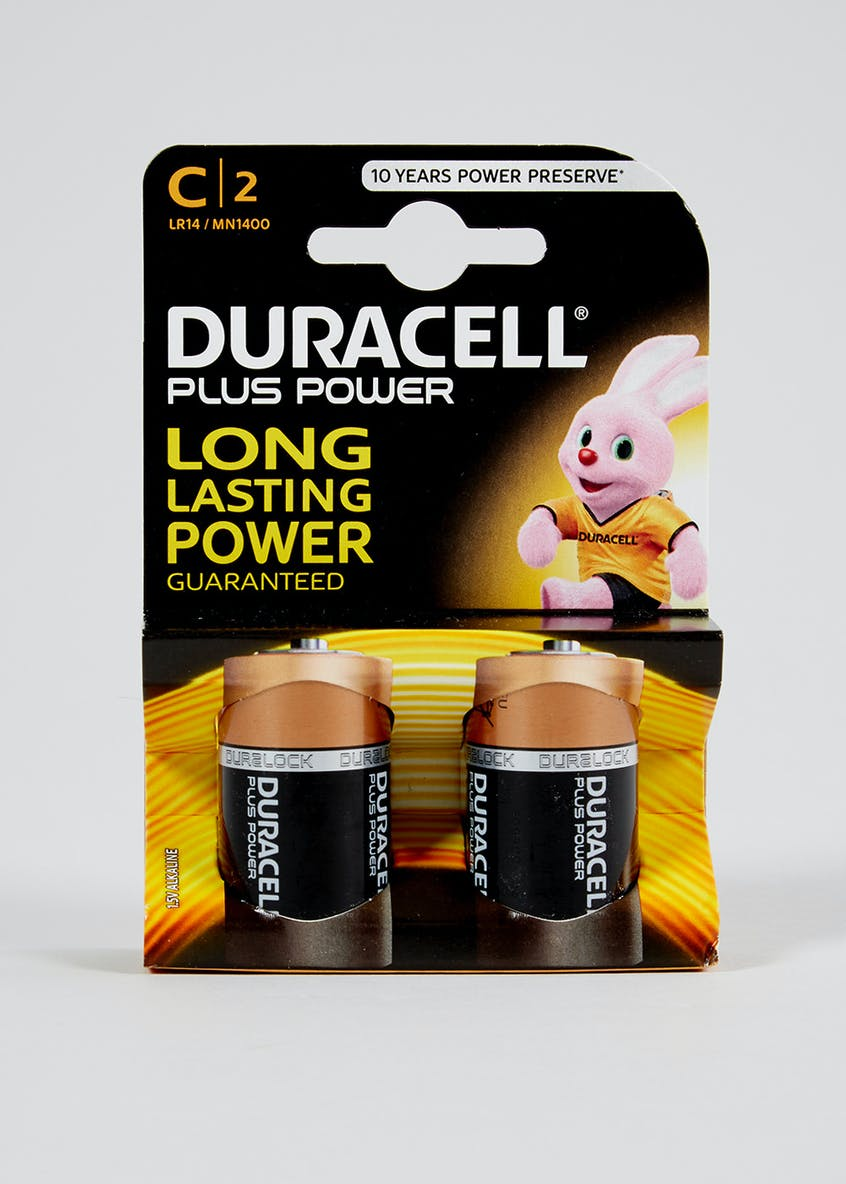 Duracell Twin Pack Plus Power Batteries