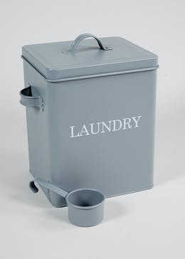 Laundry Tin & Scoop (23cm x 16cm)