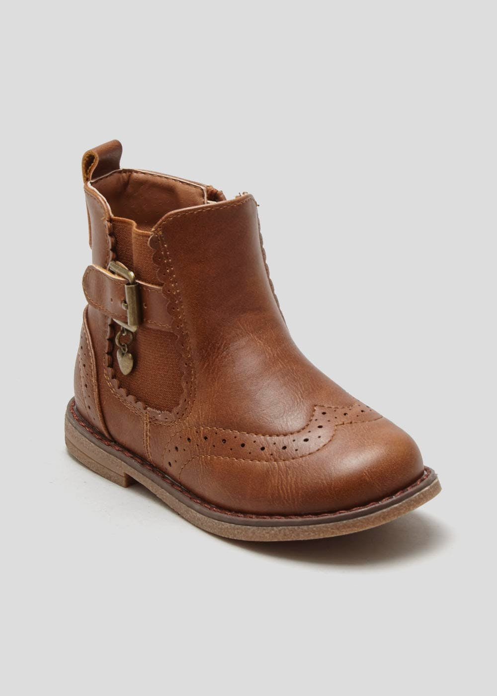Girls Chelsea Boot (Younger 4-12) – Tan