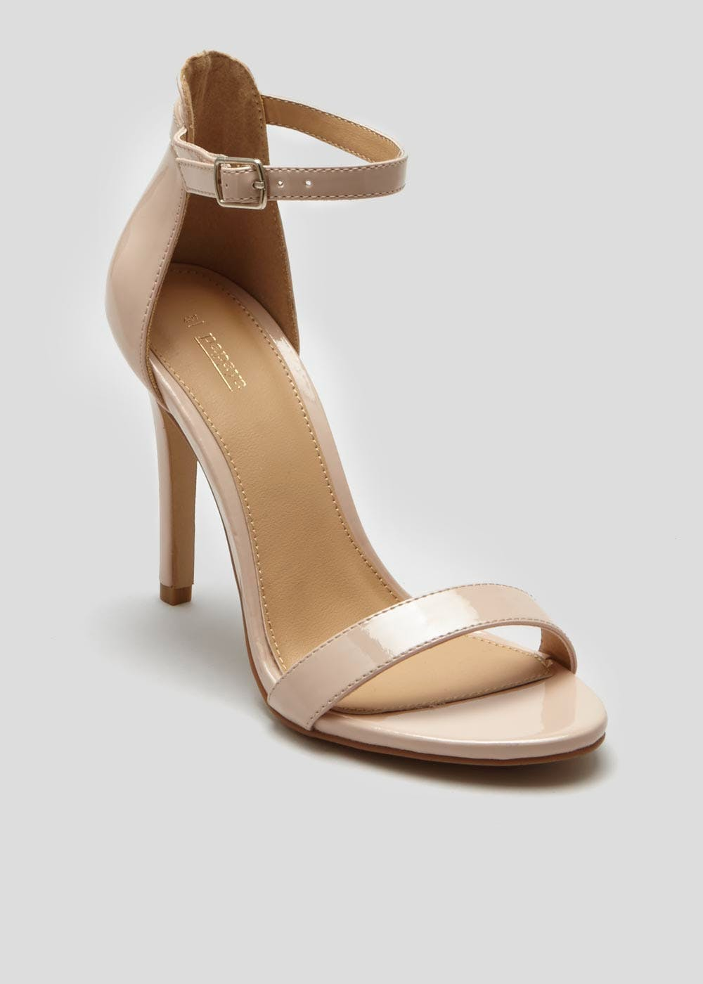 4c87f5aa1 Barely There Strappy Sandals – Nude – Matalan