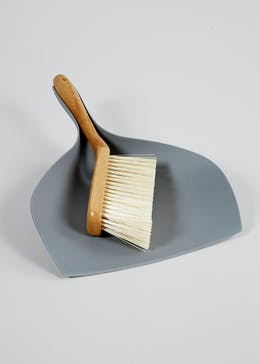 Wooden Dustpan & Brush (35cm)